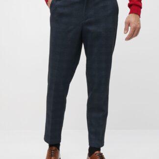 Selected Homme tmavě modré slim fit pánské kalhoty New Jersey