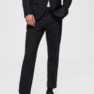 Selected Homme černé pánské kalhoty Ankle