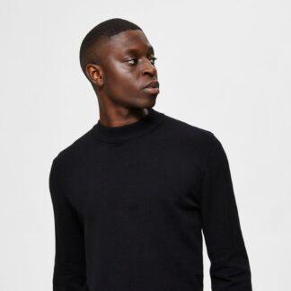Selected Homme černý pánský svetr