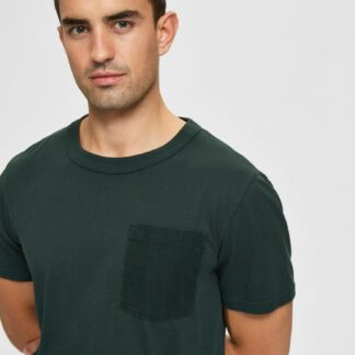 Selected Homme zelené pánské basic tričko