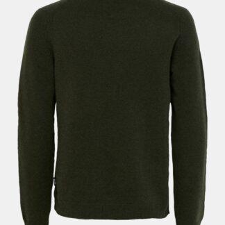 Zelený vlněný svetr ONLY & SONS Howard