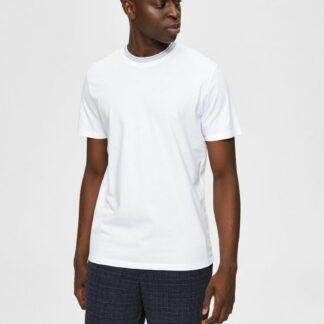 Selected Homme bílé pánské basic tričko