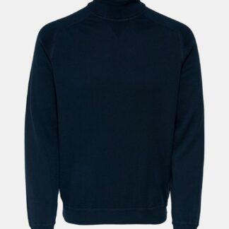 ONLY & SONS modrý pánský svetr Kaleb