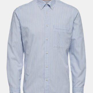 Selected Homme modro-bílá pánská košile