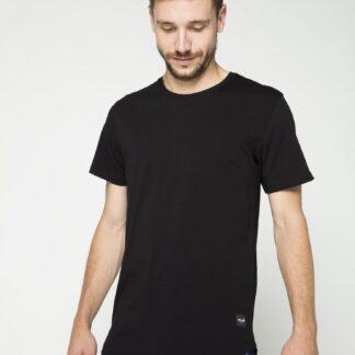 ONLY & SONS černé pánské tričko Matt