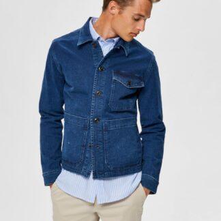 Selected Homme modrá džínová pánská bunda Harry