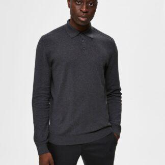 Selected Homme šedý pánský svetr