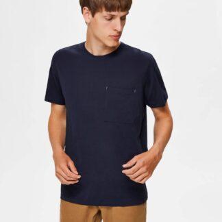 Selected Homme tmavě modré pánské tričko Park