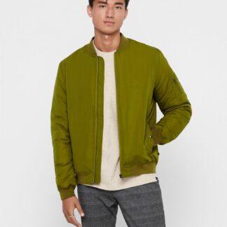 ONLY & SONS zelená pánská bunda Jack