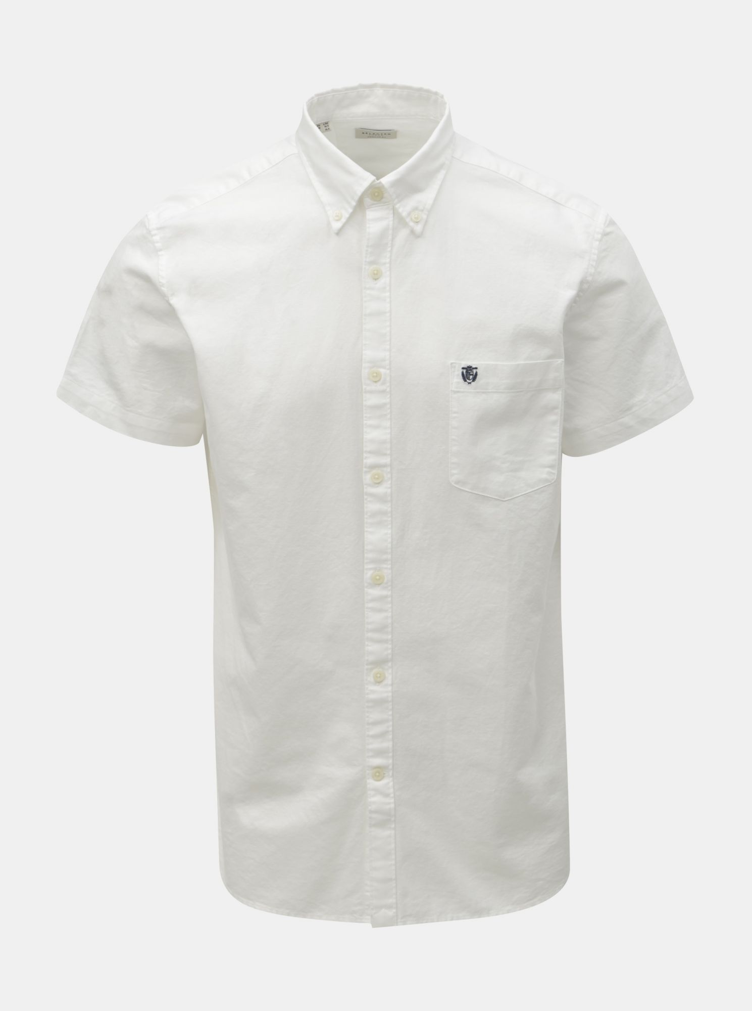 Selected Homme bílá regular fit pánská košile Collect