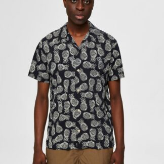 Selected Homme černá pánská košile Mildas