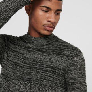 ONLY & SONS šedý pánský svetr
