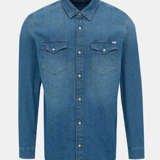 Jack & Jones modrá slim fit košile Heridan