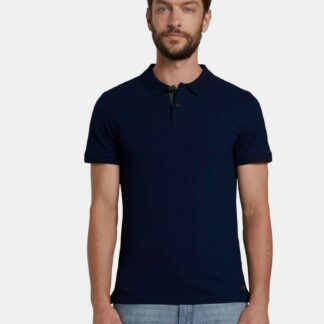 Tmavě modré pánské polo tričko Tom Tailor
