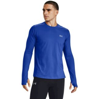 Tričko Under Armour Empowered LS Crew-BLU