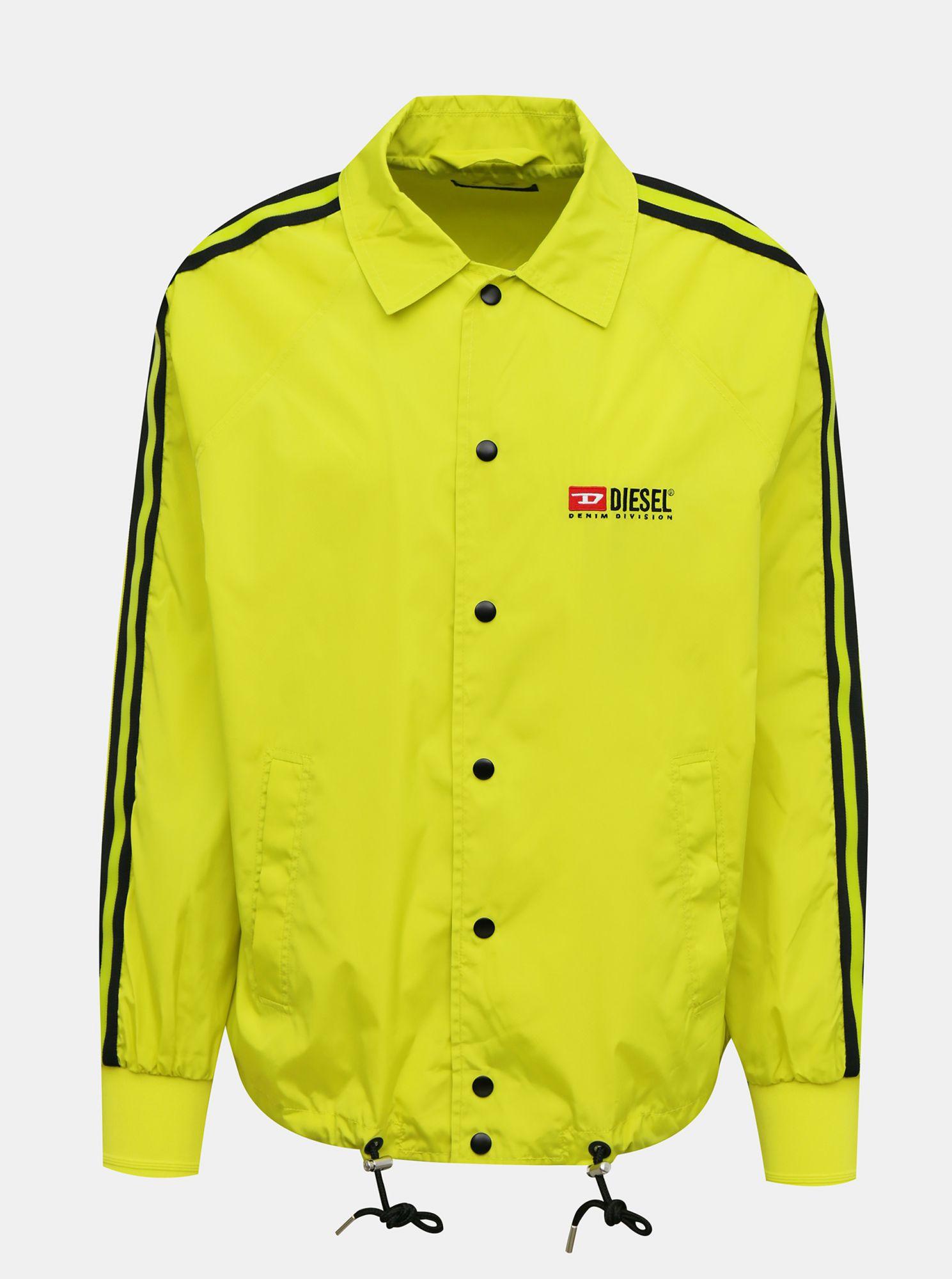 Žlutá pánská bunda Diesel