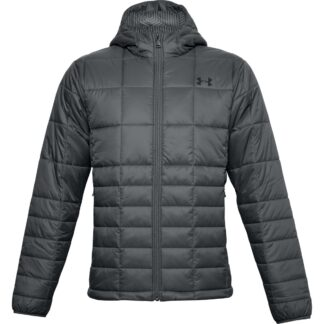 Bunda Under Armour UA Armour Insulated Hooded Jkt-GRY