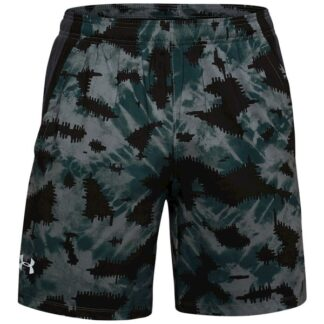 Kraťasy Under Armour UA LAUNCH SW 7'' PRINTED SHORT-BLU