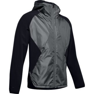 Bunda Under Armour STRETCH-WOVEN HOODED JACKET-BLK
