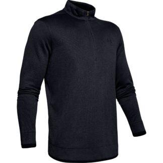 Svetr Under Armour Sweaterfleece 1/2 Zip-Blk