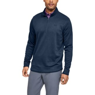 Svetr Under Armour SweaterFleece 1/2 Zip-NVY