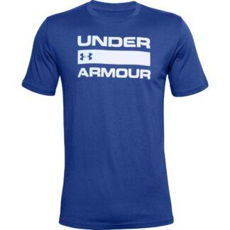 Tričko Under Armour UA TEAM ISSUE WORDMARK SS-BLU