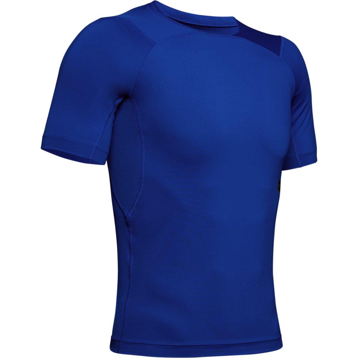 Kompresní tričko Under Armour Hg Rush Compression Ss-Blu