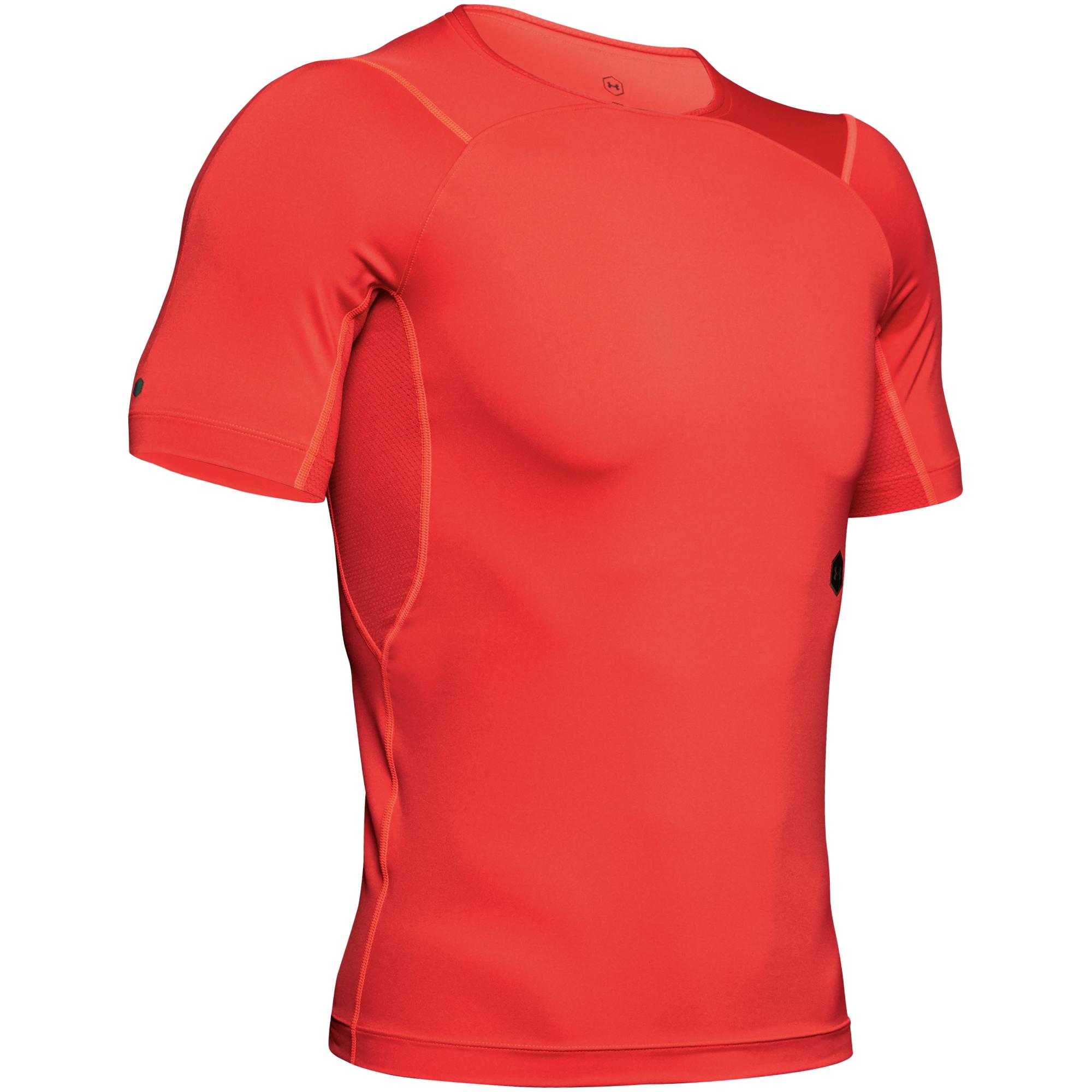 Kompresní tričko Under Armour Hg Rush Compression Ss-Red