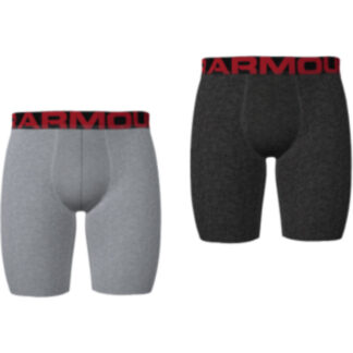 Boxerky Under Armour UA Tech 9in 2 Pack-GRY