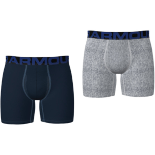 Boxerky Under Armour UA Tech 6in 2 Pack-NVY