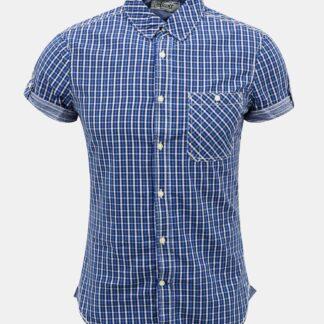 Modrá pánská kostkovaná košile Alcott