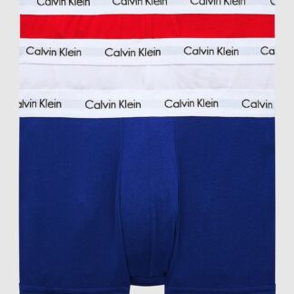 Calvin Klein barevné boxerky 3 Pack Low Rise Trunks Basic