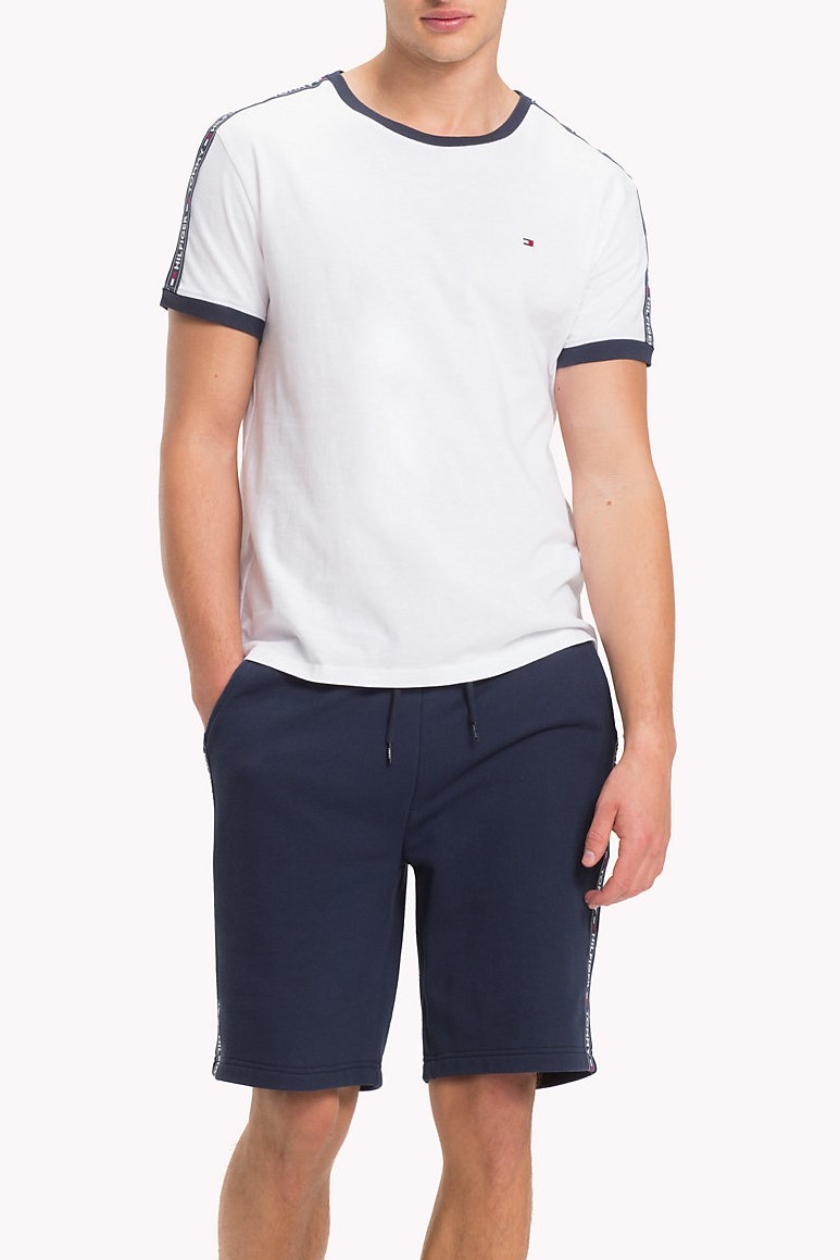 Tommy Hilfiger bílé pánské tričko RN Tee SS Basic