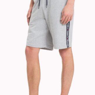 Tommy Hilfiger šedé pánské teplákové kraťasy Short HWK Basic