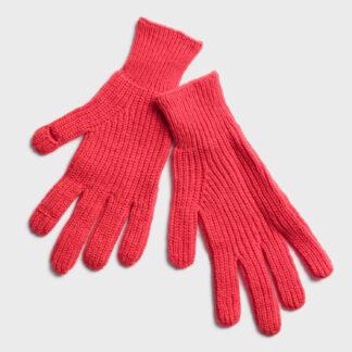 GAP červené dámské rukavice