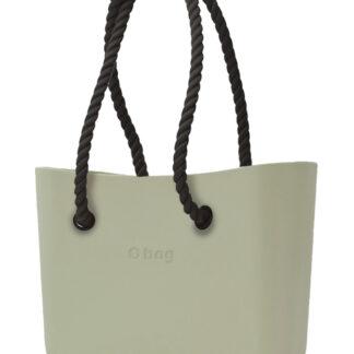 O bag  kabelka Cargo s černými dlouhými provazy