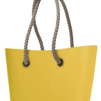 O bag  kabelka Urban Ginestra s dlouhými provazy natural