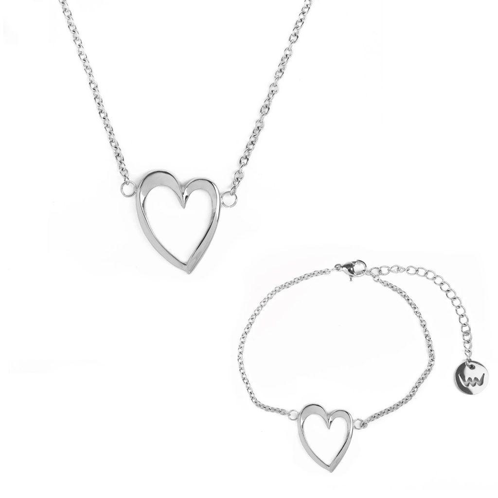 Vuch set Desire Silver Couple