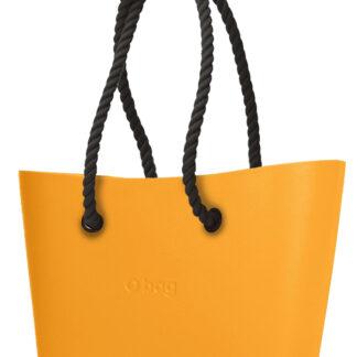 O bag kabelka Urban Becco Doca s černými dlouhými provazy