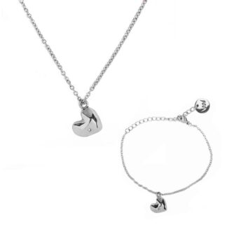 Vuch set Amour Silver Couple