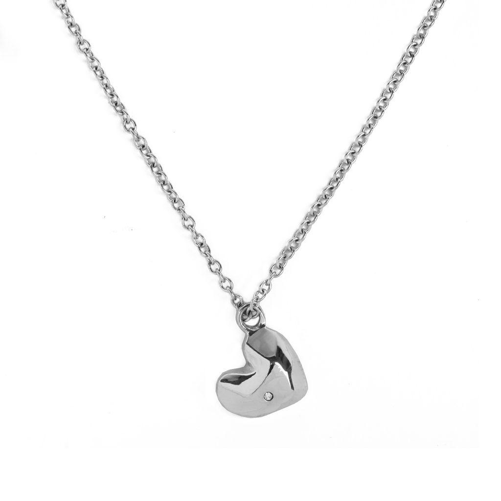 Vuch náhrdelník Amour Silver