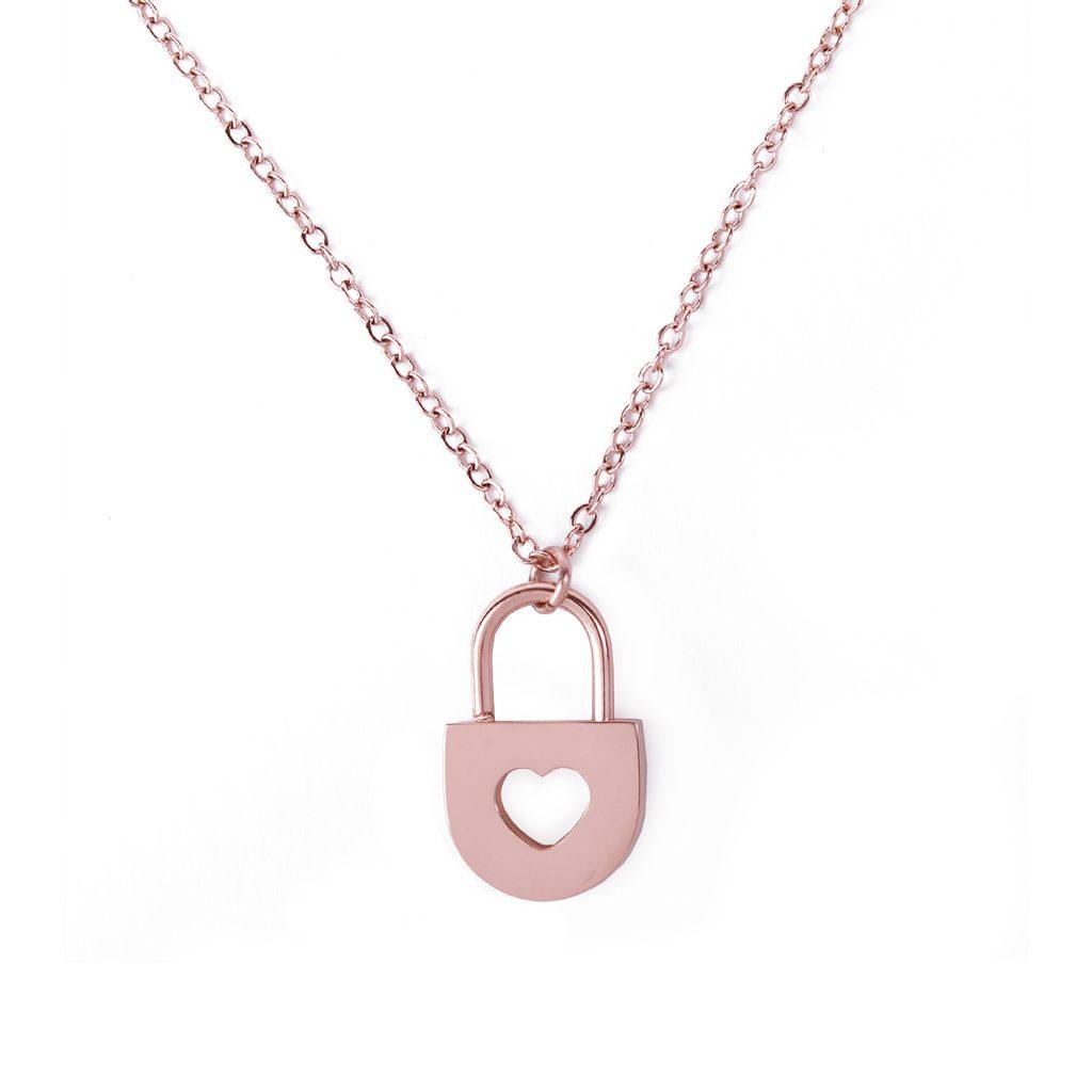 Vuch náhrdelník Key Rose gold