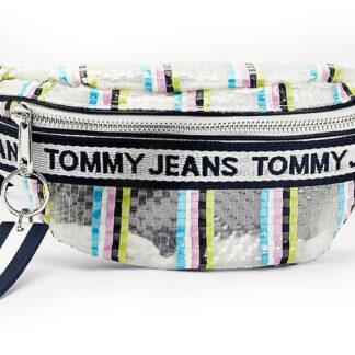 Tommy Hilfigerstylová ledvinka Mini Logo Bumbag Weave