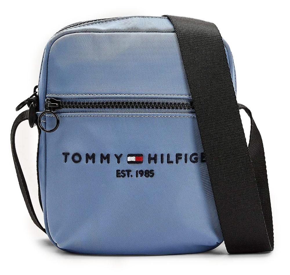 Tommy Hilfiger světle modrá pánská taška Established Mini Reporter