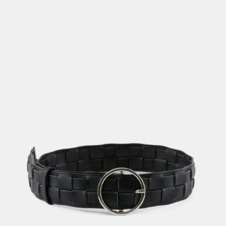Pieces černý široký pásek