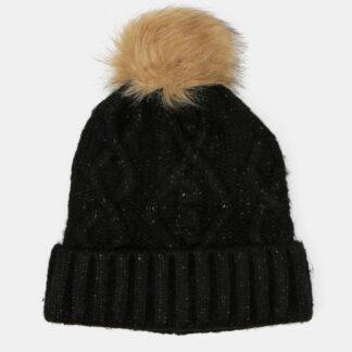 Only černá dámská čepice