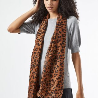 Dorothy Perkins hnědý dámský šátek