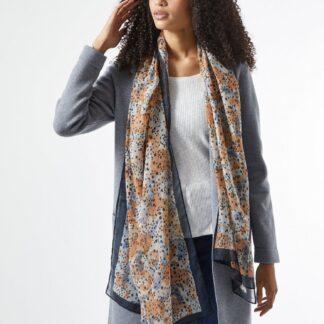 Dorothy Perkins modrý dámský šátek