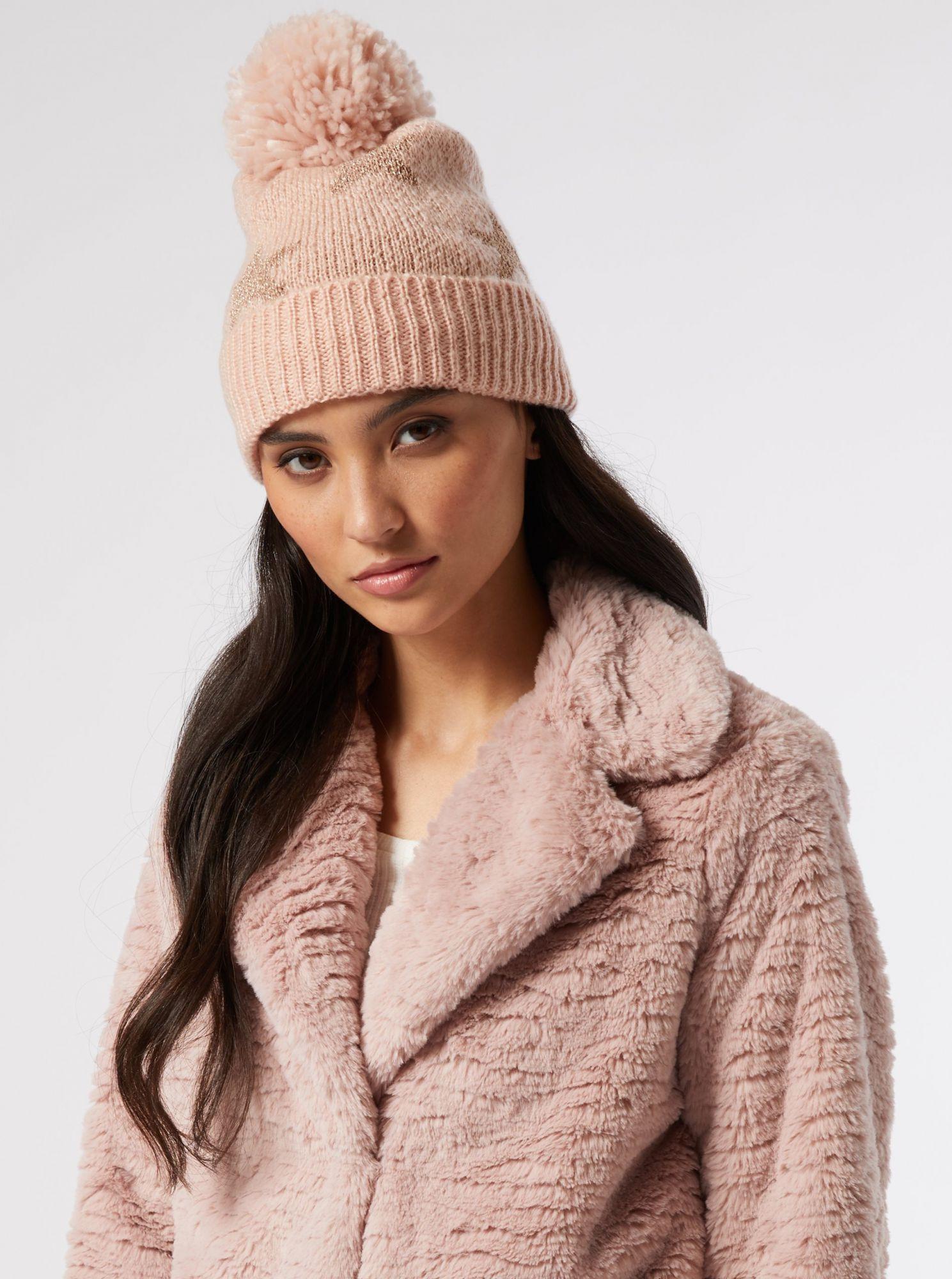 Dorothy Perkins růžová dámská čepice