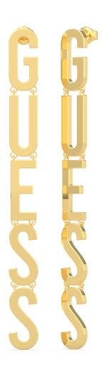 Guess zlaté náušnice Los Angeles
